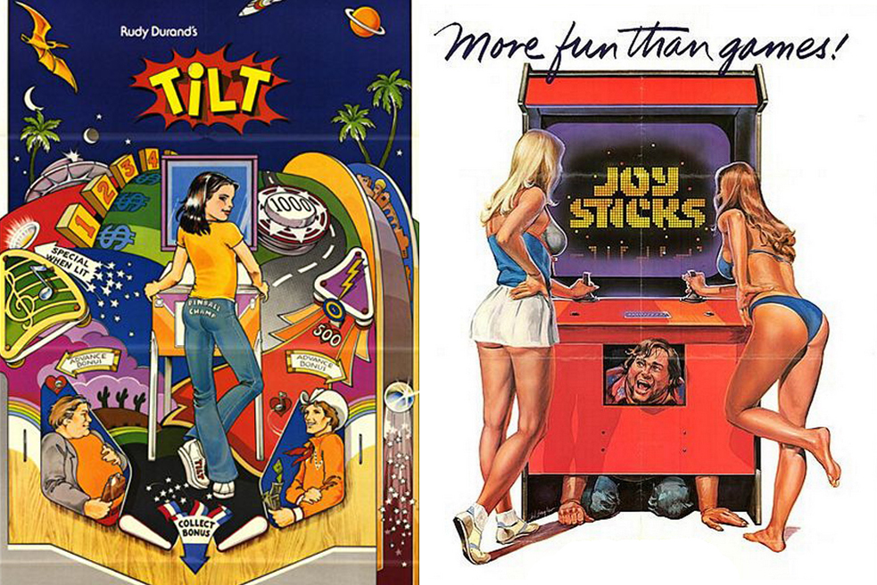 Tilt (1979) & Joysticks (1983)