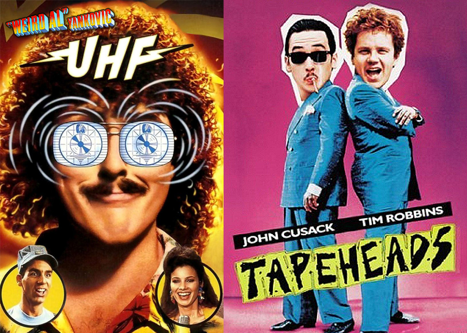 UHF Tapeheads Weird Al John Cusack Tim Robbins