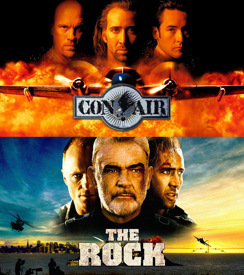 Nicolas Cage The Rock Con Air