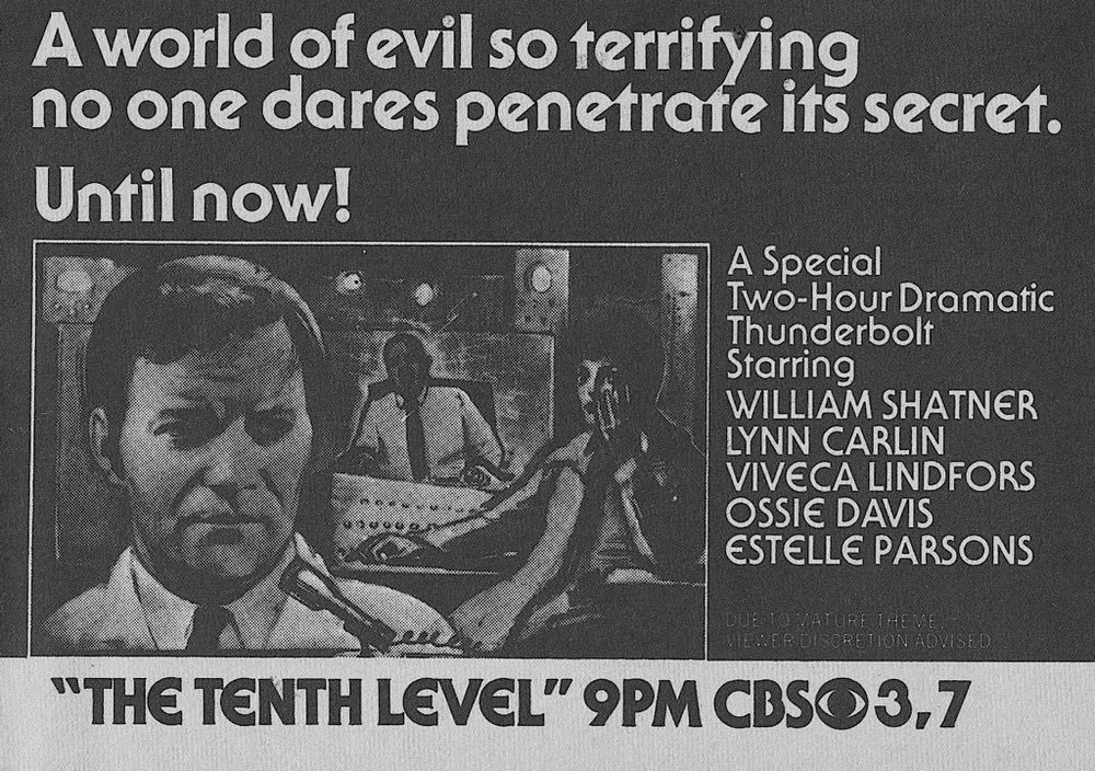 William Shatner The Tenth Level