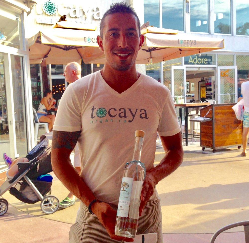 Carlos - Tocaya Organica - South Beach, Fl