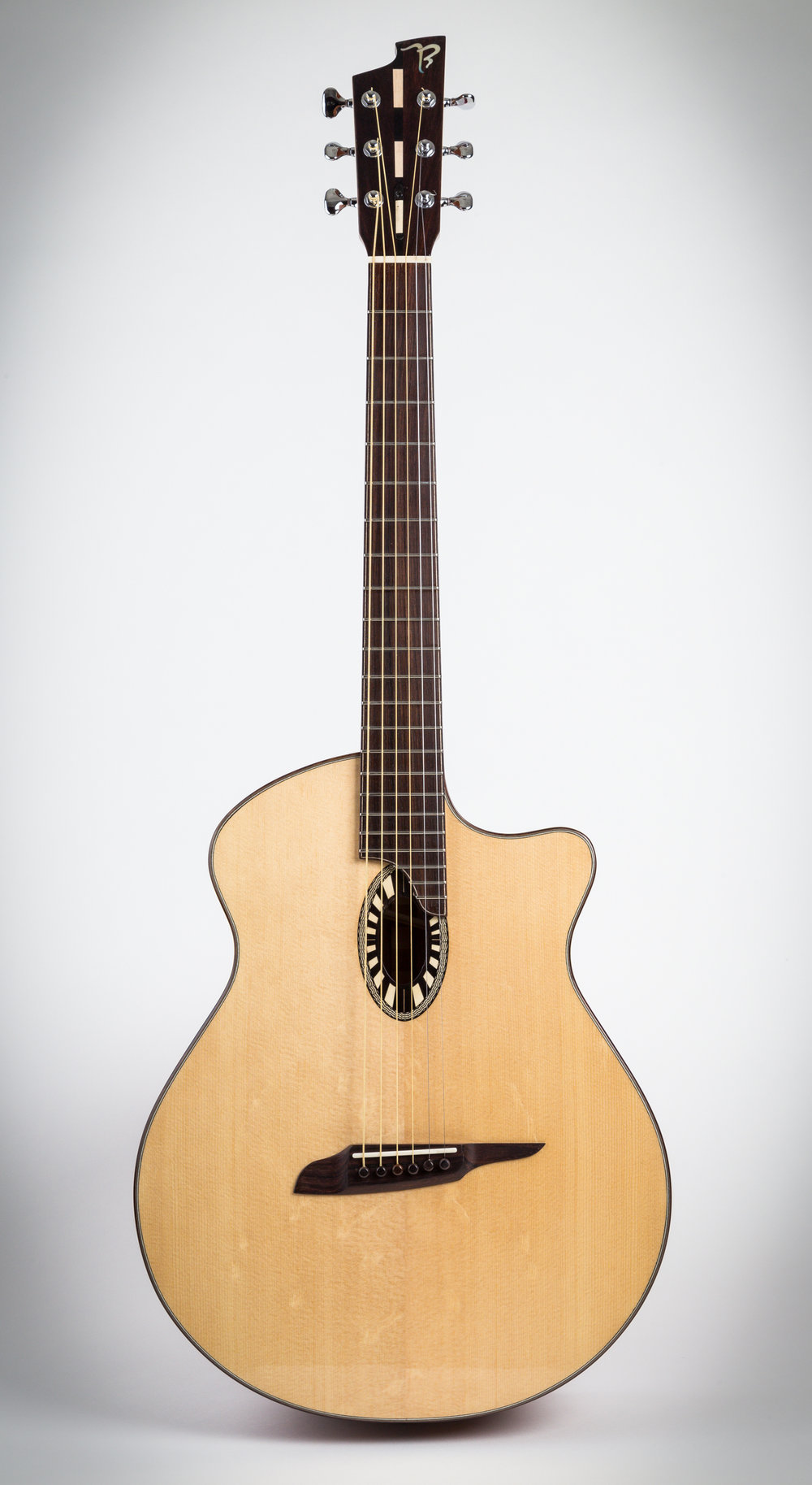 2D model 2 with bear claw Red spruce top