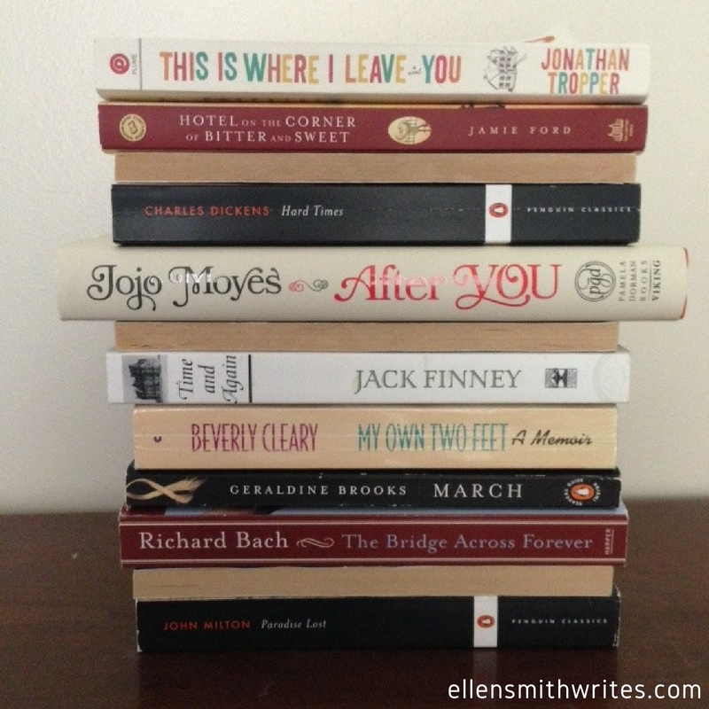 Book Spine Poetry from ellensmithwrites.com Follow Ellen on Instagram at @ellensmithwrites