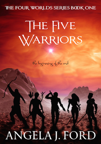 THE FIVE WARRIORS: an epic fantasy novel by Angela J. Ford https://www.amazon.com/Five-Warriors-Four-Worlds/dp/1512163619/ref=sr_1_1?ie=UTF8&qid=1475633857&sr=8-1&keywords=the+five+warriors