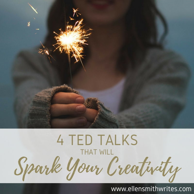 4 TED Talks That Will Spark Your Creativity || www.ellensmithwrites.com