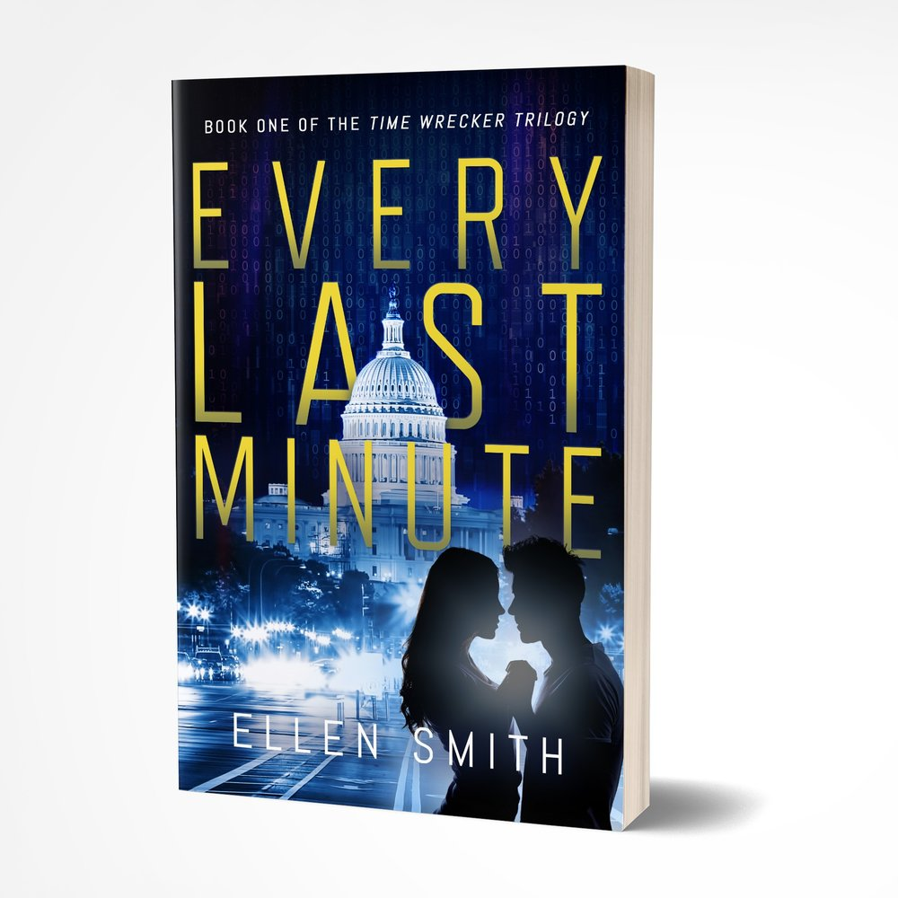 EVERY LAST MINUTE by Ellen Smith || Book cover designed by The Thatchery www.ellensmithwrites.com