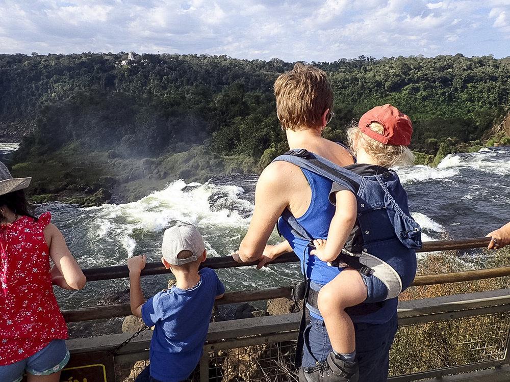 Parque Nacional Iguazu, Argentinië.