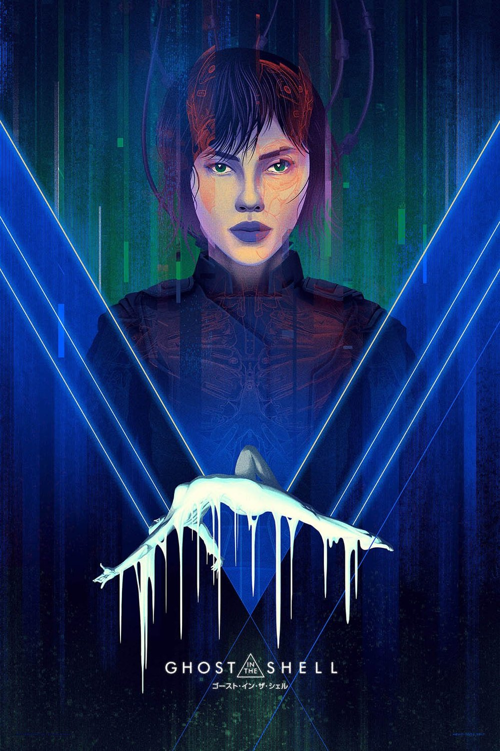 GHOST IN THE SHELL – VARIANT $65.00