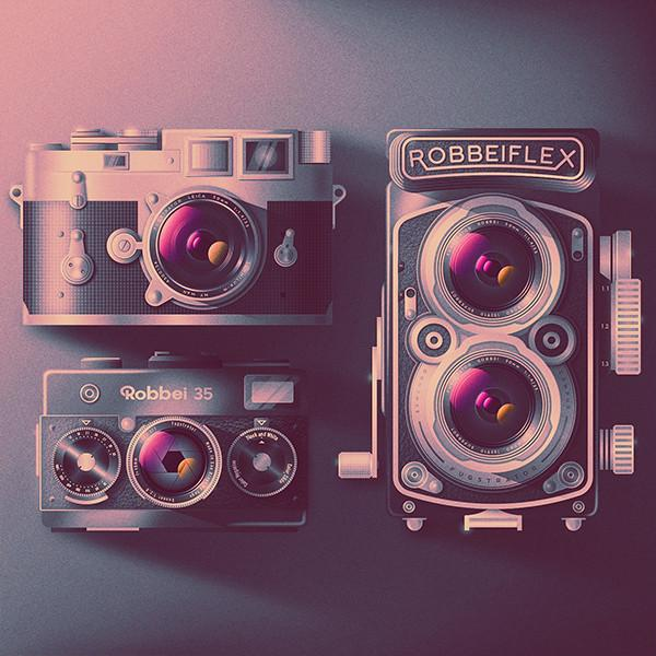 RETRO CAMERA MONTAGE From $36.00