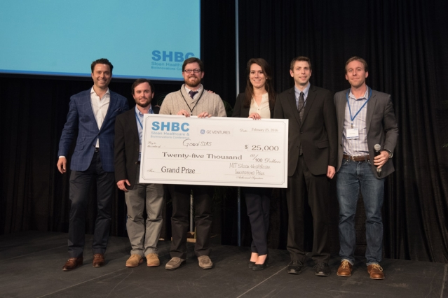 Winners of the 2016 Healthcare Innovation Prize, GoodSIRS