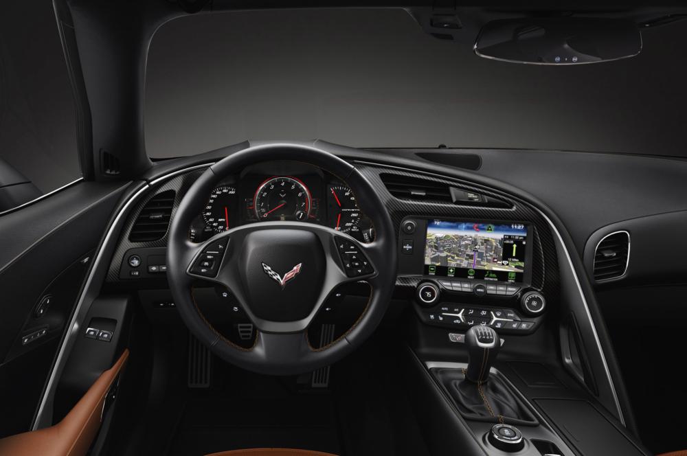 Corvette Interior 1