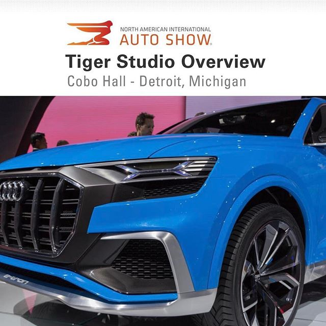 Check out our official overview of the 2017 North American International Auto Show. Luciano and some of our industrial designers went to Detroit last month to visit the annual auto show and they put together a great overview of what they saw and where they think design trends are heading. Give it a read and stay tuned for more! www.tigerstudiodesign.com/reports