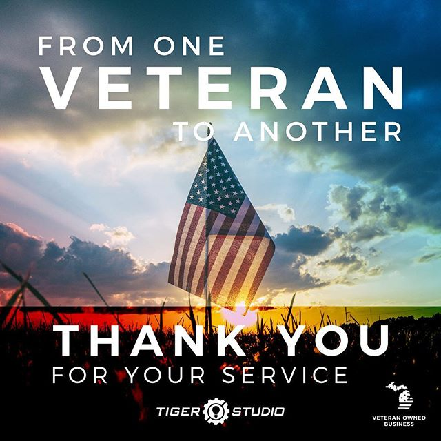 From one veteran to another, THANK YOU for your service! Luciano, president of Tiger Studio, served in the Army National Guard for six years active and one year inactive. Today, we honor those in uniform currently serving and to those who have served in the past. 🇺🇸 #veteransday #armyveteran #army #nationalguard #thankyou #industrialdesign #veteranownedbusiness