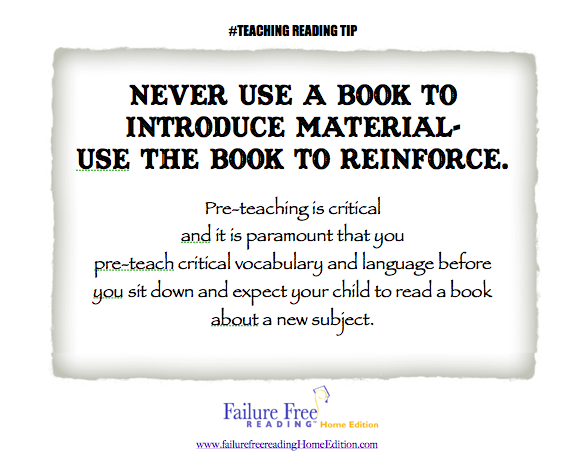 #Reading Tip Never use a book to introduce-use it to reinforce #FFR.png