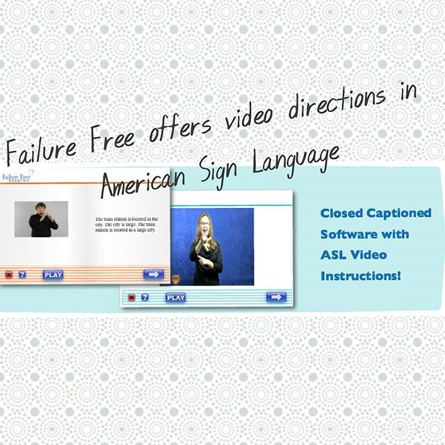 #parents and #educators did you know #FFR offers the option of video #ASL directions? Perfect for your #deaf #hardofhearing #students!  #deafEd #deafeducation #homeschool