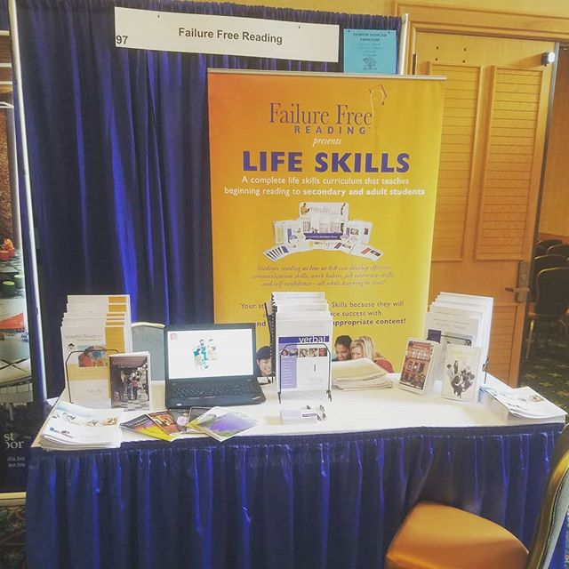 #southcarolinaeducators are you having fun #SCASA?! Come by and visit our booth, we want to help your #mostinneedstudents! #readingprogram #failurefreereadingprogram #readingintervention