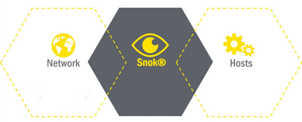 SNOK® monitors the industrial network and each component in the control system, such as PLCs, HMIs, VMs etc.