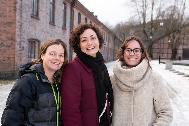 From left: Siv Hilde Houmb (Secure-NOK), Marianne Haugland Hindsgaul (Bubbly Group AS) and Nuria Espallargas (Seram Coatings AS). Picture: Innovation Norway