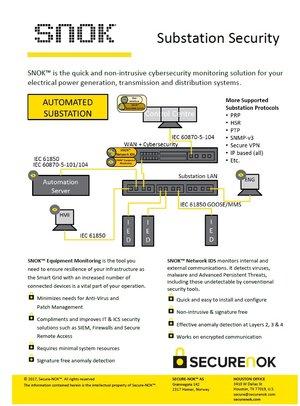 SNOK®Substation Security