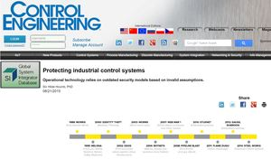 Protecting industrial control systems