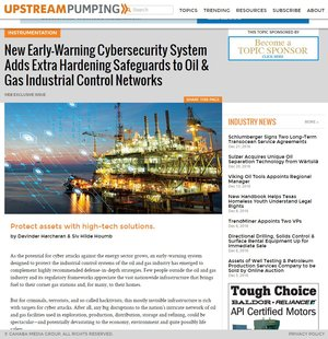 New Early-Warning Cybersecurity System Adds Extra Hardening Safeguards to Oil & Gas Industrial Control Networks
