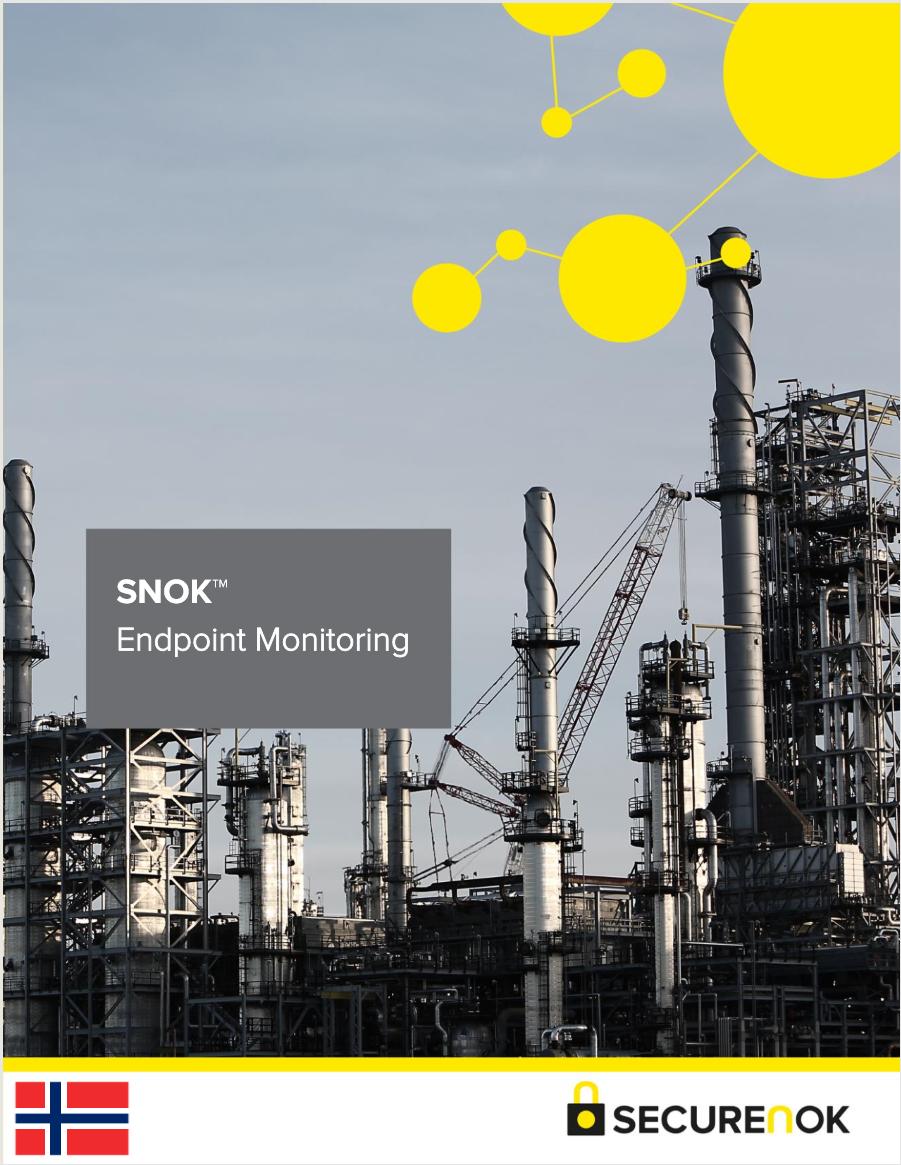 SNOK  ™   Endpoint Monitoring (Norwegian)