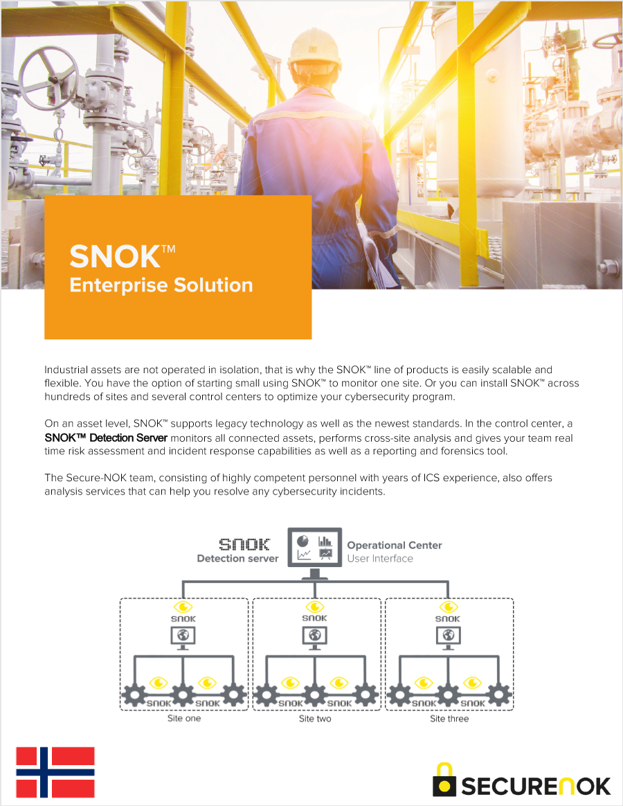 SNOK  ™   Enterprise Solution (Norwegian)