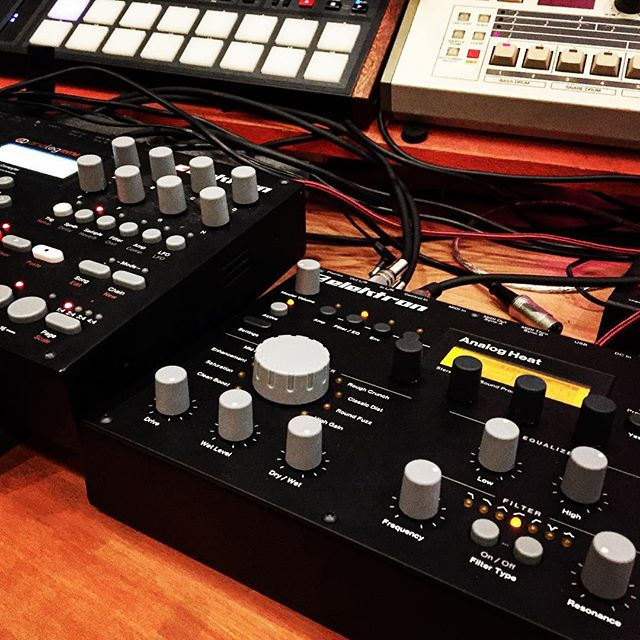 Welcome to the family ! #elektron #heat #analog #chunky