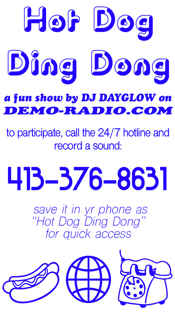 I have a new radio show on demo-radio.com!!!!!!!!!!!!!!!!!Premiering 10/20 at 12pm -
