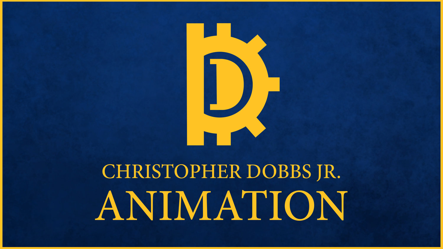 Christopher Dobbs Jr. Animation