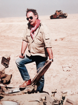 David during Operation Desert Storm, 1991