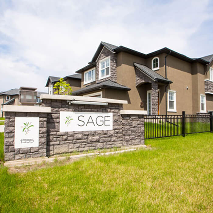 Sage  Starting at 1245 sqft Starting at $279,000