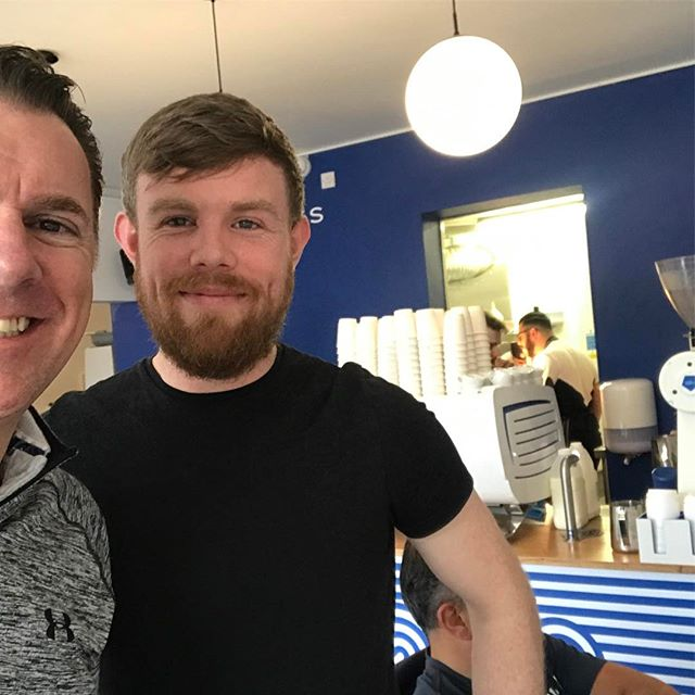Coffee legend Adam, nails it with the finest store and the very best hospitality from his amazing team! Best of luck you guys! @adamsheridan90 @3fecoffee #coffee #brunch #hospitality #lovindublin #lucykennedy