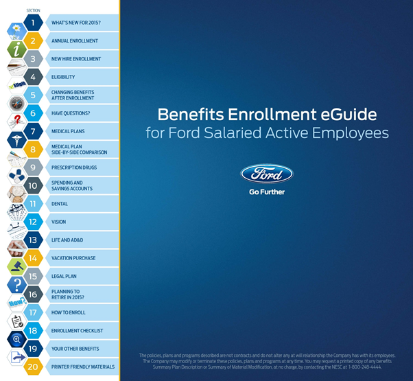 Ford Motor Company Wins Best Benefits Communication