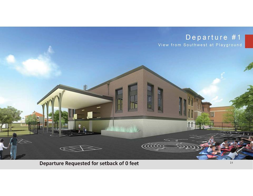 Webster School Departure (Rendering)