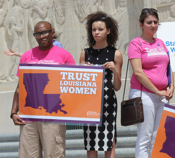 Planned Parenthood hosted a rally at the Louisiana State Capitol Thursday, May 8, 2014, to advocate for abortion rights, health issues and sex education. (Emily Lane, NOLA.com | The Times-Picayune)