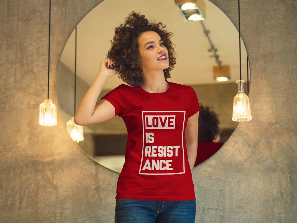A portion of February and March proceeds from Build Love + Power go to Equality for HER