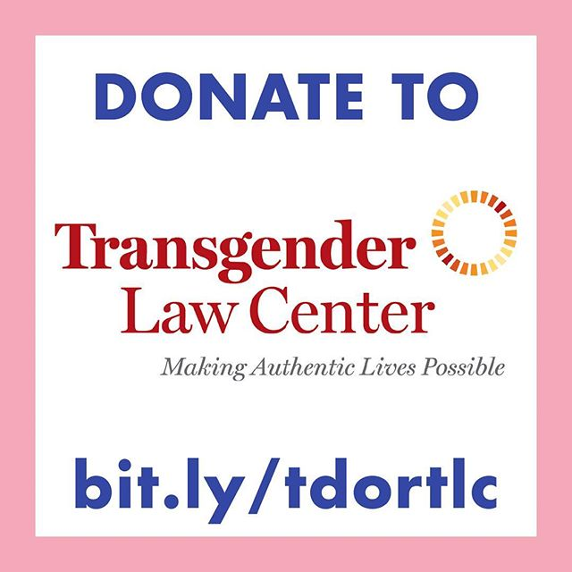 Go to bit.ly/tdortlc to support the @translawcenter today.