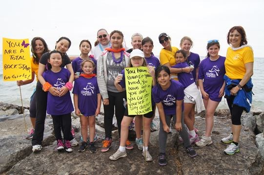 Kaban Montessori in Mississauga participates Girls on the run program participates in 5k run. article in Mississauga.com