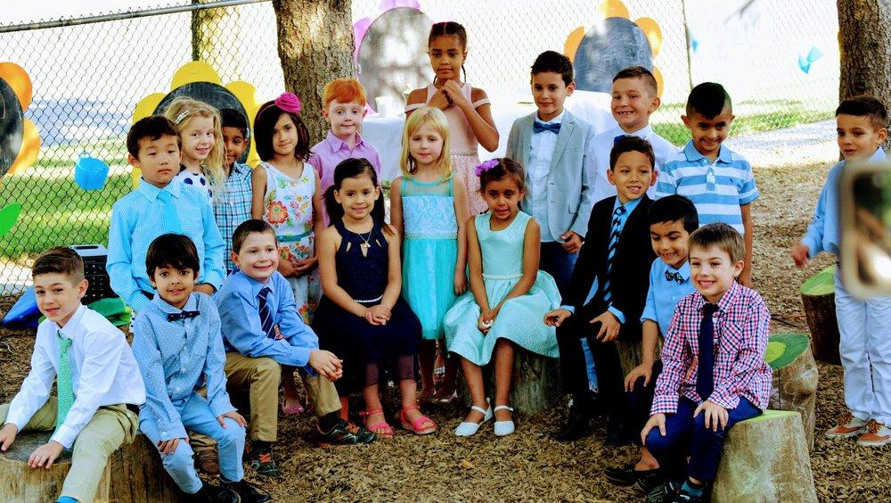 Students of Kaban Montessori
