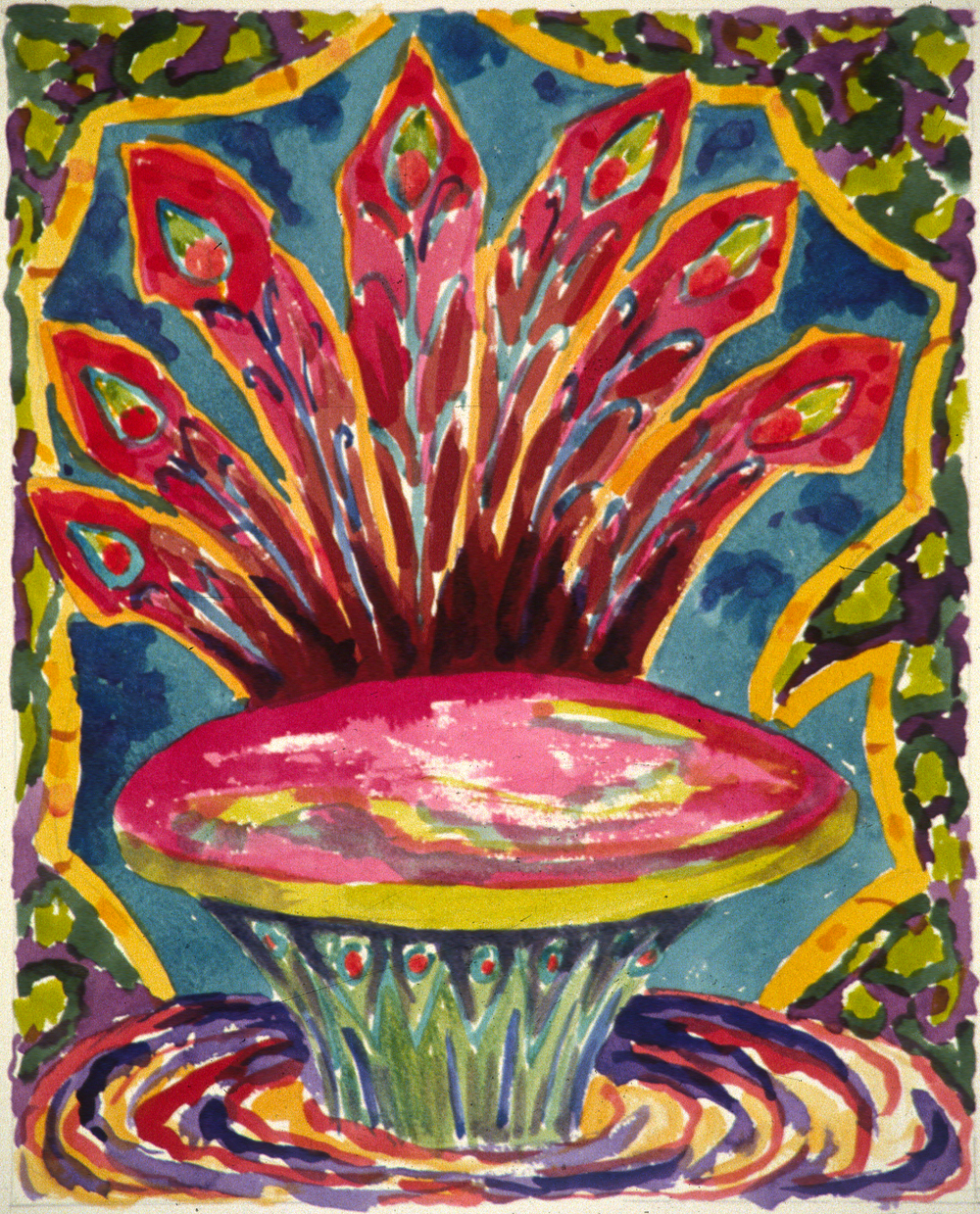 "Untitled, 30x22"", 1989"