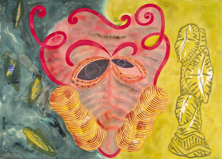 "Afrobeat, 66x90"", 1992"