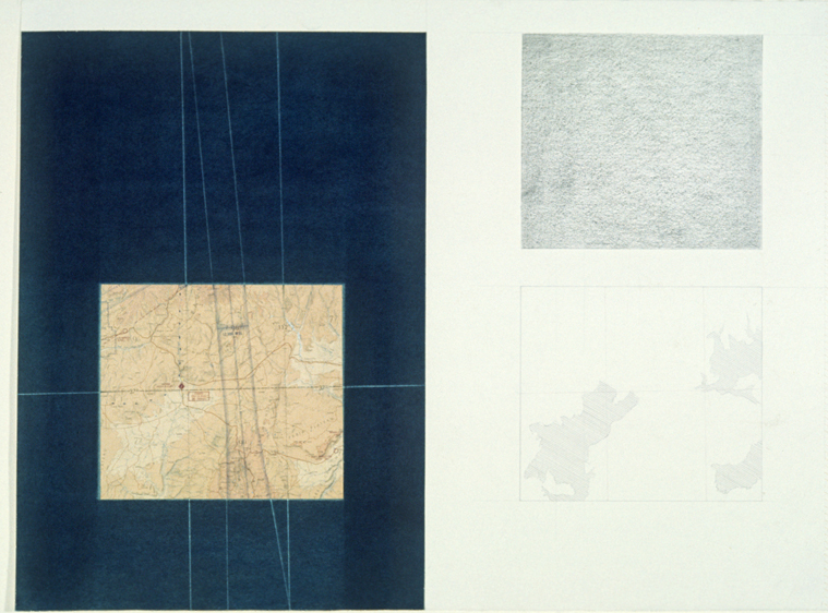"Plan for Colton,  22x30"", 1975"