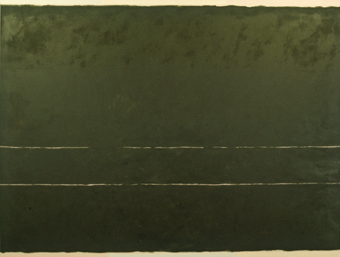 "Atlantic Ave,  84x110"", 1972"