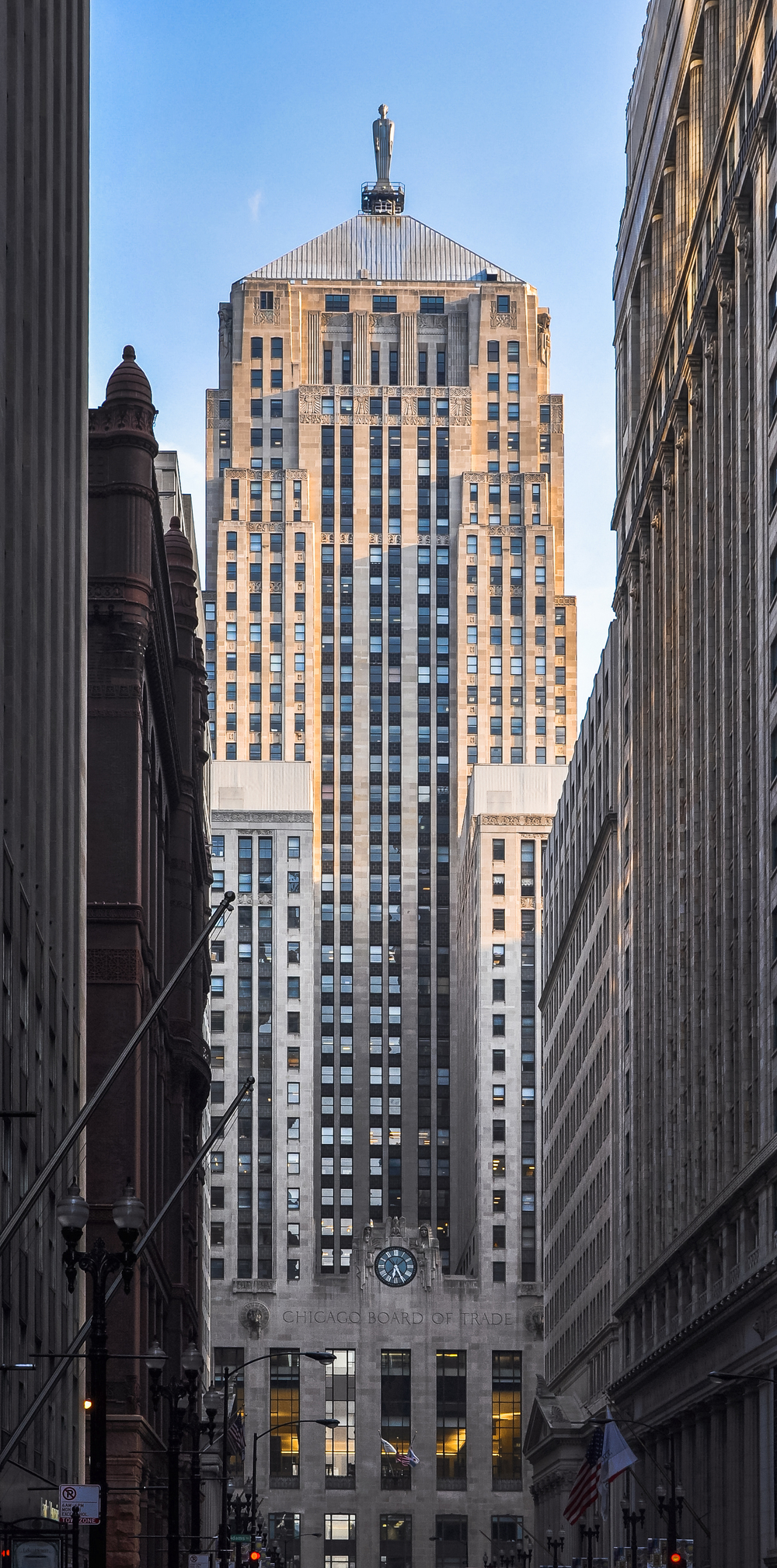 The Chicago Board of Trade, photo by Joe Ravi