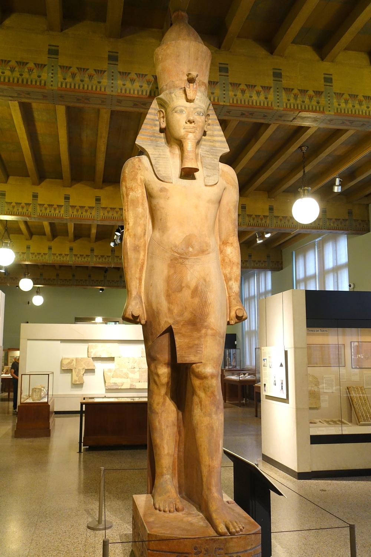 King Tut statue at Oriental Institute