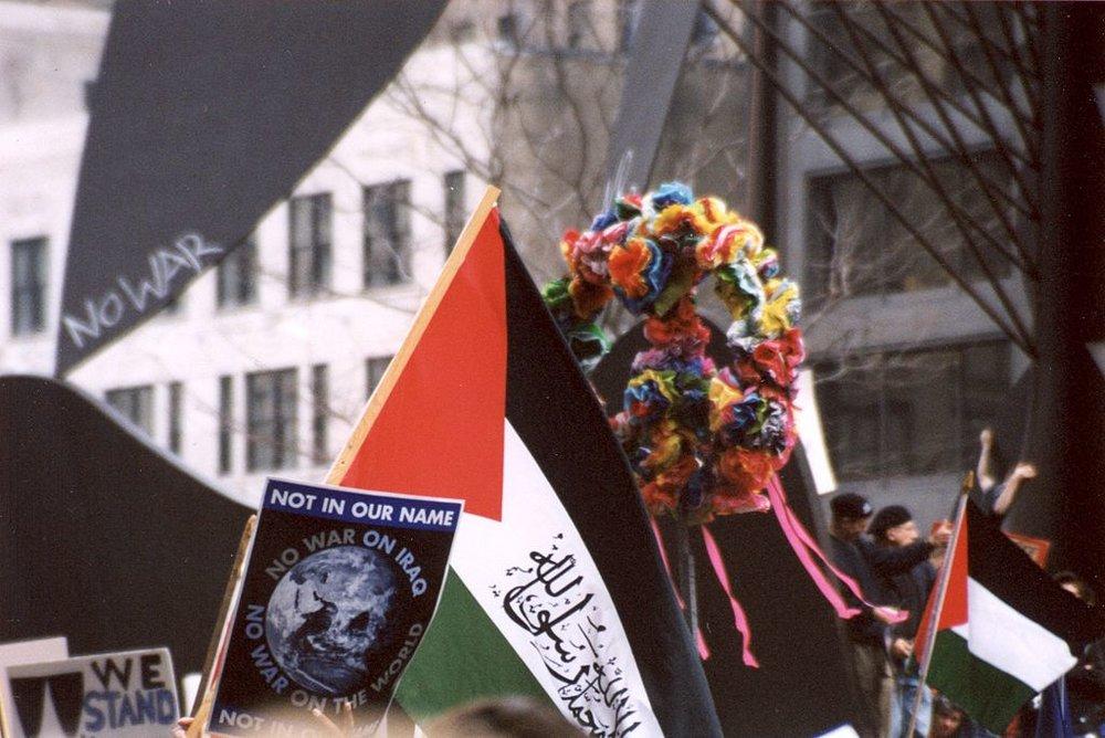 Iraq War protest 2004