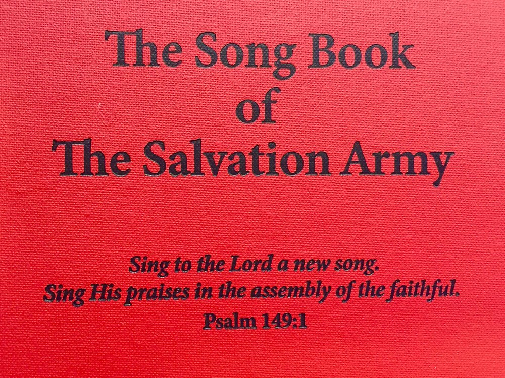 Salvation Army Songbook