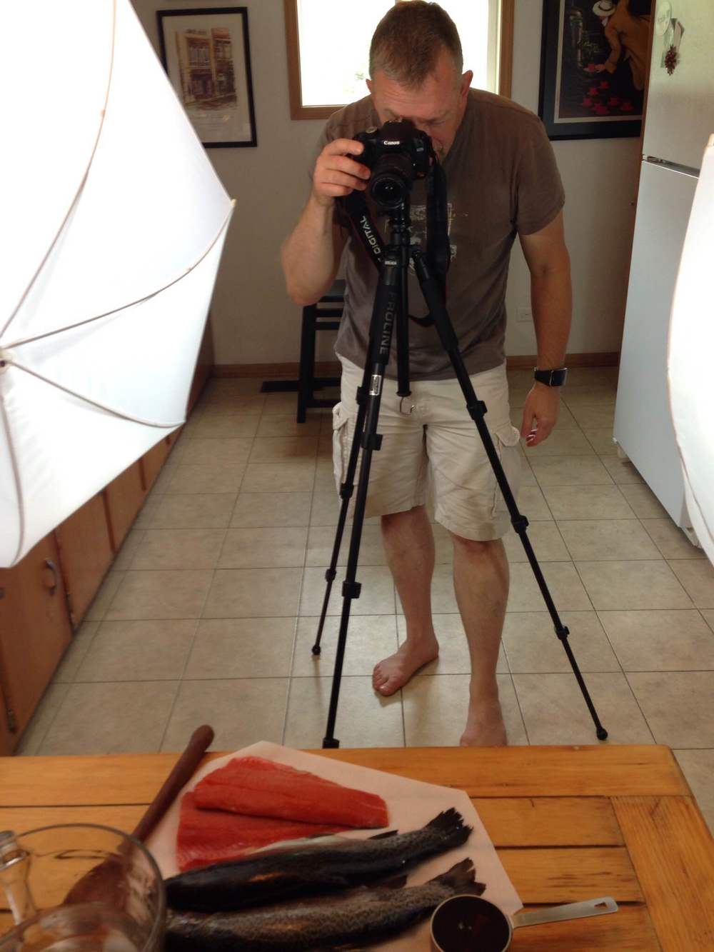 Photo Shoot of Fishy Models