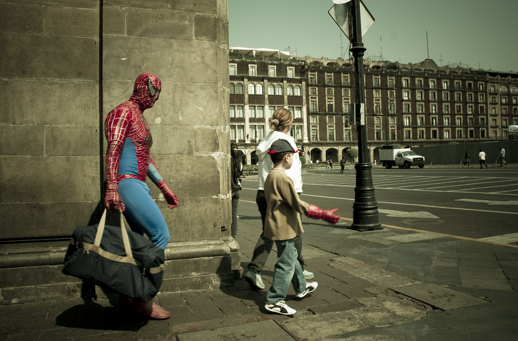spiderman-goes-to-work